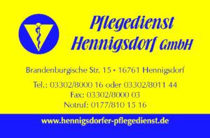 Pflegedienst Hennigsdorf GmbH